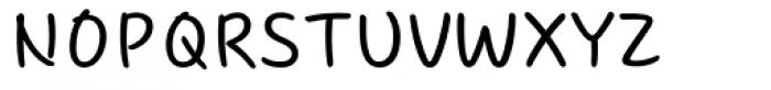 Core Narae Font UPPERCASE