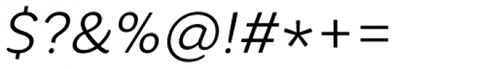 Core Rhino 35 Light Italic Font OTHER CHARS