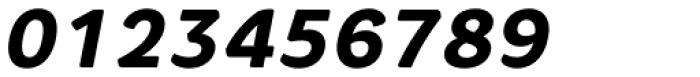 Core Rhino 75 Heavy Italic Font OTHER CHARS