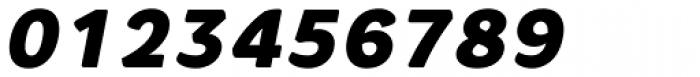 Core Rhino 85 Black Italic Font OTHER CHARS