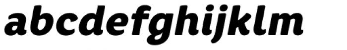 Core Rhino 85 Black Italic Font LOWERCASE