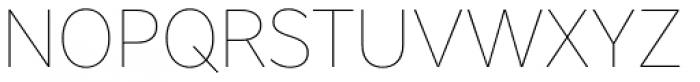 Core Sans A 15 Thin Font UPPERCASE