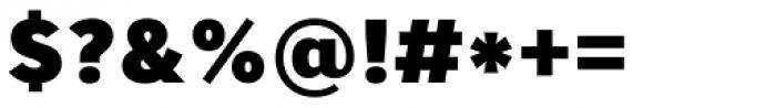 Core Sans A 85 Heavy Font OTHER CHARS