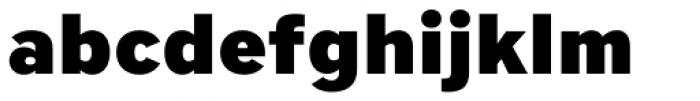 Core Sans A 85 Heavy Font LOWERCASE