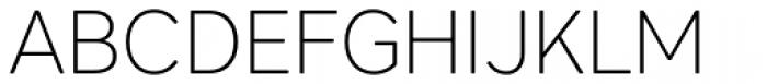 Core Sans AR 25 Extra Light Font UPPERCASE