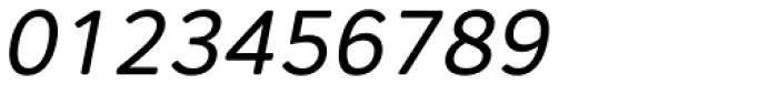 Core Sans AR 45 Regular Italic Font OTHER CHARS
