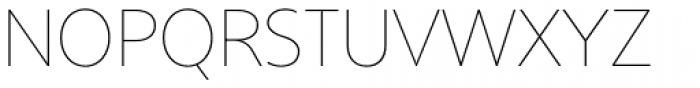 Core Sans B 15 Thin Font UPPERCASE