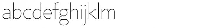 Core Sans B 15 Thin Font LOWERCASE