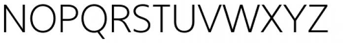 Core Sans B 25 Light Font UPPERCASE