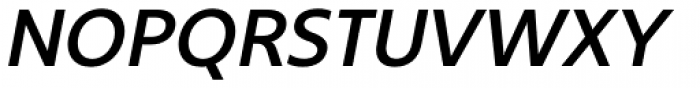 Core Sans B 45 Medium Italic Font UPPERCASE