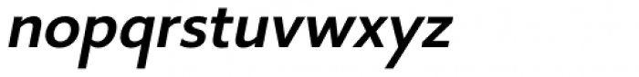 Core Sans B 45 Medium Italic Font LOWERCASE