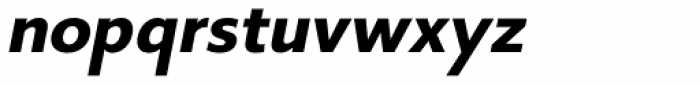 Core Sans B 55 Bold Italic Font LOWERCASE