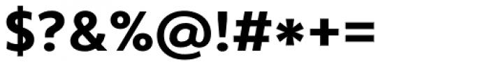 Core Sans B 55 Bold Font OTHER CHARS