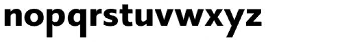 Core Sans B 55 Bold Font LOWERCASE