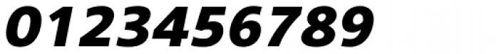 Core Sans B 65 Heavy Italic Font OTHER CHARS