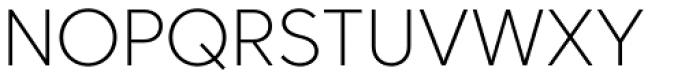 Core Sans C 25 Extra Light Font UPPERCASE