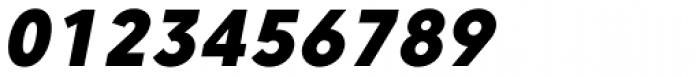 Core Sans C 85 Heavy Italic Font OTHER CHARS