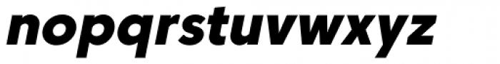 Core Sans C 85 Heavy Italic Font LOWERCASE