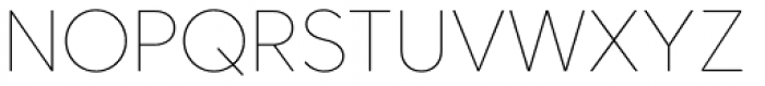 Core Sans CR 15 Thin Font UPPERCASE