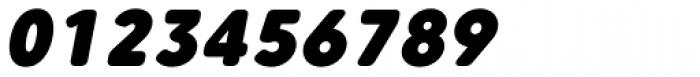 Core Sans CR 95 Black Italic Font OTHER CHARS