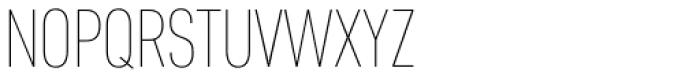 Core Sans D 17 Cn Thin Font UPPERCASE