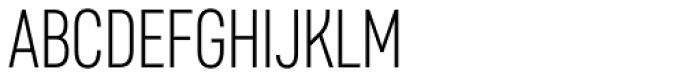 Core Sans D 27 Cn Light Font UPPERCASE