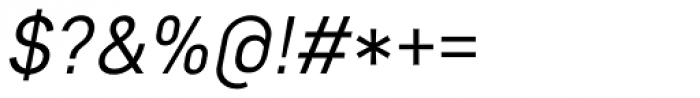 Core Sans D 35 Italic Font OTHER CHARS