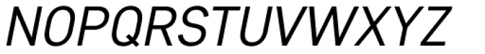 Core Sans D 35 Italic Font UPPERCASE