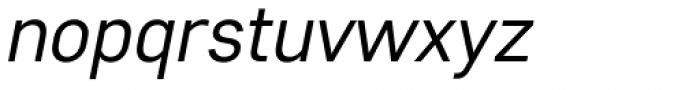 Core Sans D 35 Italic Font LOWERCASE