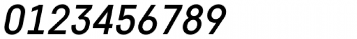 Core Sans D 45 Medium Italic Font OTHER CHARS