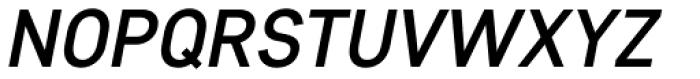 Core Sans D 45 Medium Italic Font UPPERCASE