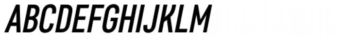 Core Sans D 47 Cn Medium Italic Font UPPERCASE
