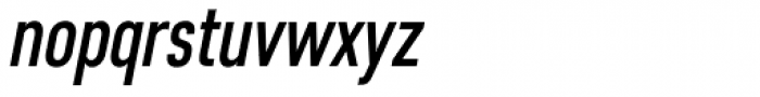 Core Sans D 47 Cn Medium Italic Font LOWERCASE