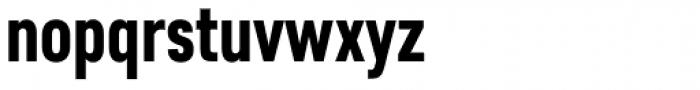 Core Sans D 67 Cn Heavy Font LOWERCASE