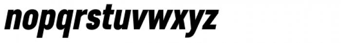 Core Sans D 77 Cn Black Italic Font LOWERCASE
