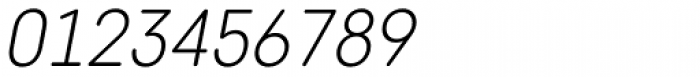 Core Sans DS 25 Light Italic Font OTHER CHARS