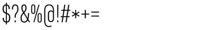 Core Sans DS 27 Cn Light Font OTHER CHARS