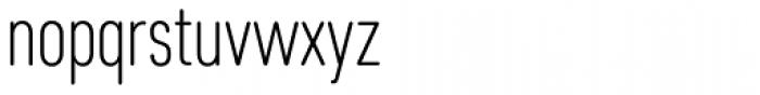 Core Sans DS 27 Cn Light Font LOWERCASE
