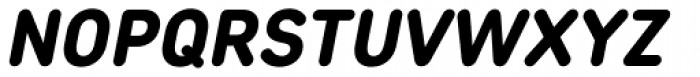 Core Sans DS 65 Heavy Italic Font UPPERCASE