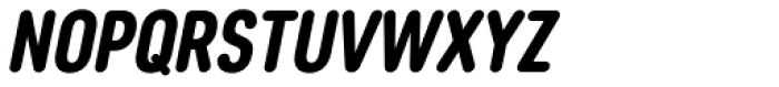 Core Sans DS 67 Cn Heavy Italic Font UPPERCASE