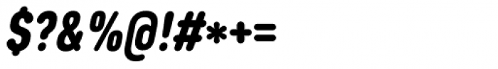 Core Sans DS 77 Cn Black Italic Font OTHER CHARS