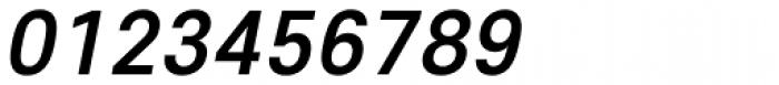 Core Sans E 55 Medium Italic Font OTHER CHARS