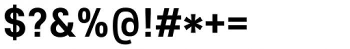Core Sans E 65 Bold Font OTHER CHARS