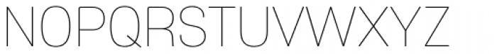 Core Sans ES 15 Thin Font UPPERCASE