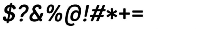 Core Sans ES 55 Medium Italic Font OTHER CHARS