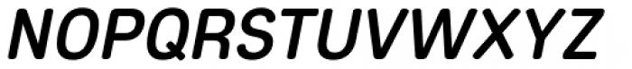 Core Sans ES 55 Medium Italic Font UPPERCASE