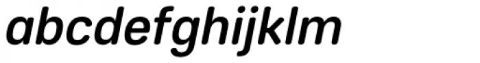Core Sans ES 55 Medium Italic Font LOWERCASE