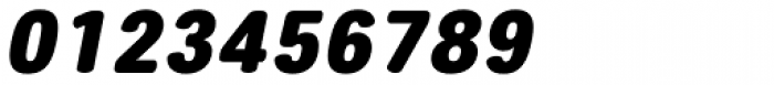 Core Sans ES 95 Black Italic Font OTHER CHARS