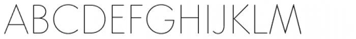 Core Sans GS 15 Thin Font UPPERCASE