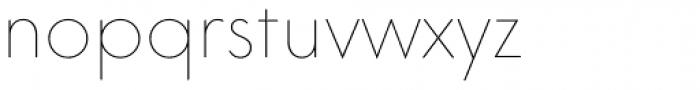 Core Sans GS 15 Thin Font LOWERCASE